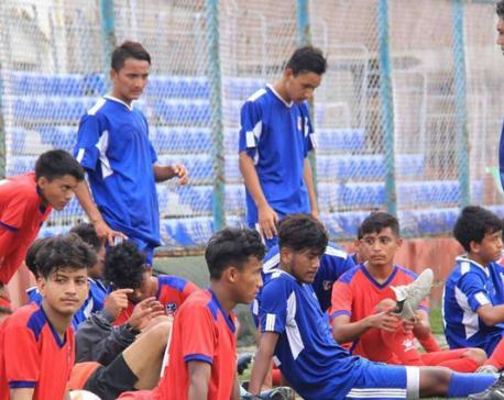 Nepal announces its squad for SAFF U-18 Championship