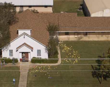 Texas killer was able to buy guns because of Air Force lapse