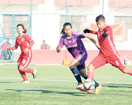 APF crushes Mid-western 26-0 as Sabitra scores 12 goals