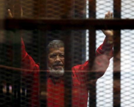 Egyptian court overturns ex-president Mursi's death sentence