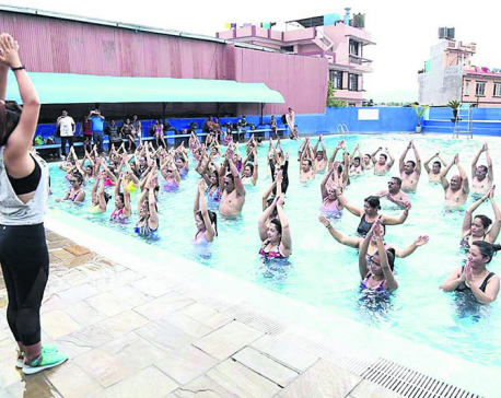 Aqua Zumba Bringing a new kind of fitness to the pool