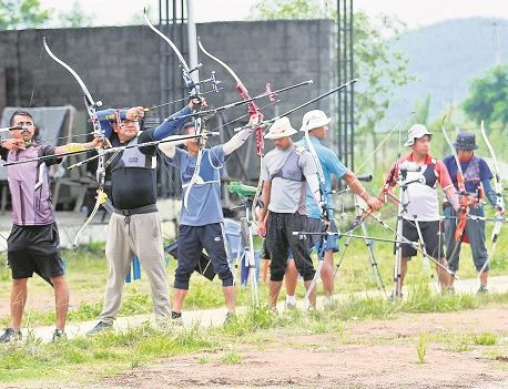 With India missing archery, others eye gold