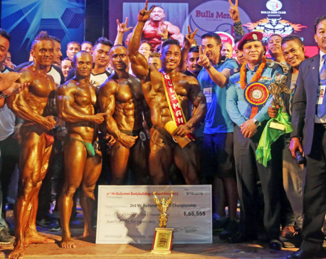 Barnawal announced best body builder