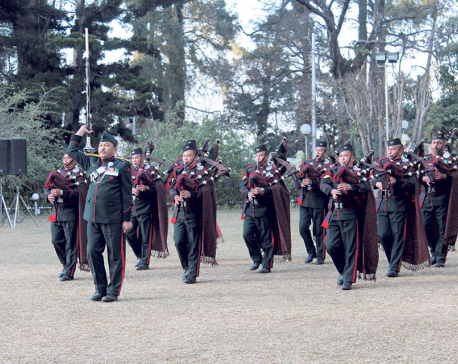 Indian Army bands at Sunset Concert