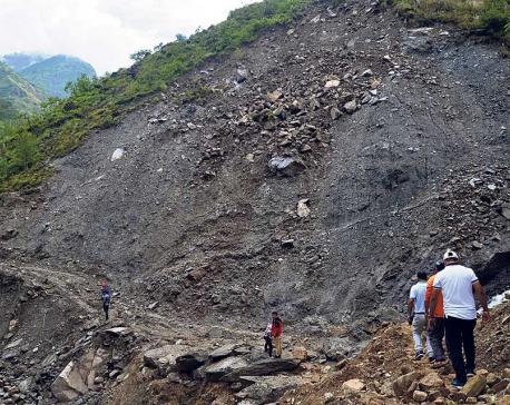 Arniko Highway neglected after closure of trade route with China