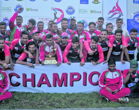 NPC, Army shares PM Cup title
