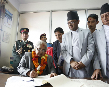 Karki becomes first woman CJ creating history