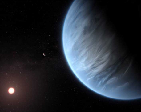 Water found in atmosphere of planet beyond our solar system