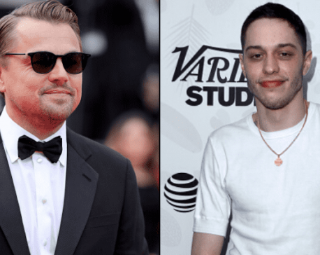 Pete Davidson reveals he had a crush on Leonardo DiCaprio