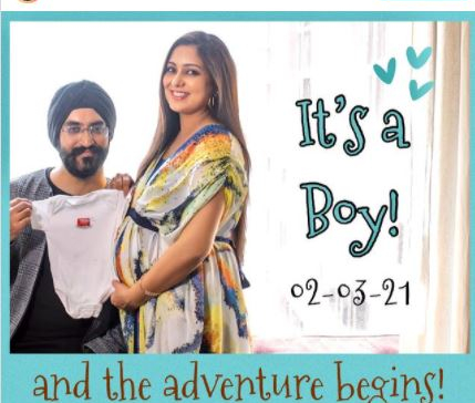 Singer Harshdeep Kaur, husband Mankeet Singh welcome baby boy