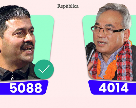 Dr Devkota secures victory in National Assembly by-poll