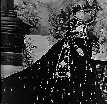 Maharajkumari Badan Kumari Rana, the daughter of Jung Bahadur Rana, in this undated photo.