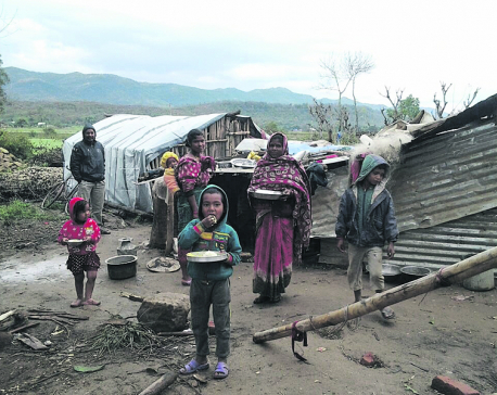 Flood victims struggling with winter woes