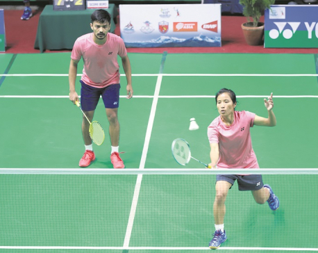 Nepal primed for bronze in men's singles and mixed doubles