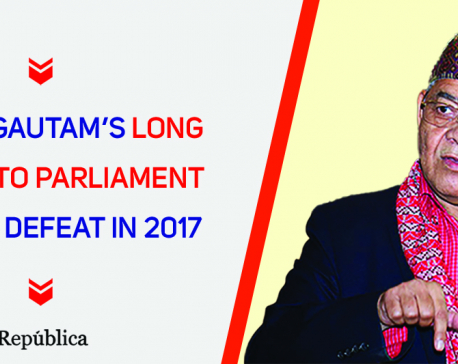 Gautam's long journey to parliament after his defeat in 2017 poll (with video)