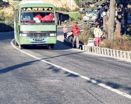 Banepa residents call for making Araniko Highway safer