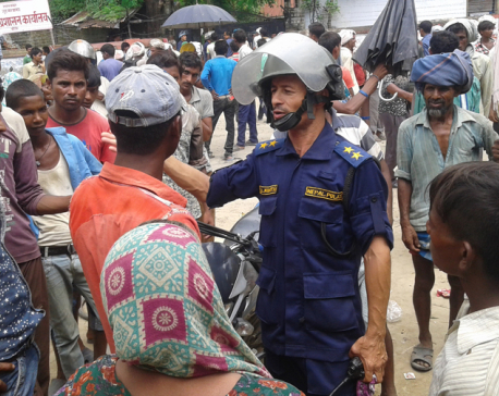 Flood victims picket DAO, Banke
