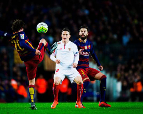 Barca, Sevilla play 3rd final in 1 year in Spanish Super Cup
