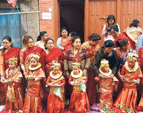 74 girls Participate in group bel-bibaha