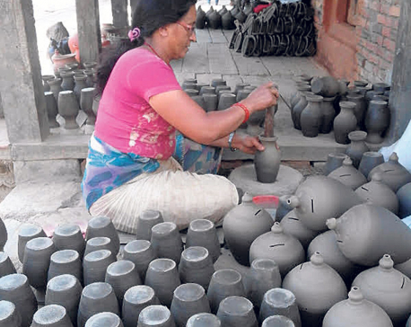 Pottery Square preserving ancient culture