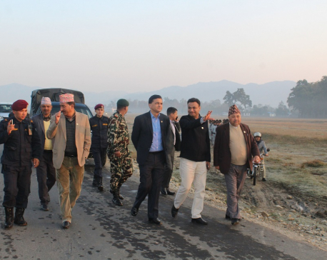 Minister Bhattarai speaks about government policy of reopening closed airports