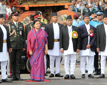 President Bhandari observes Bhotojatra