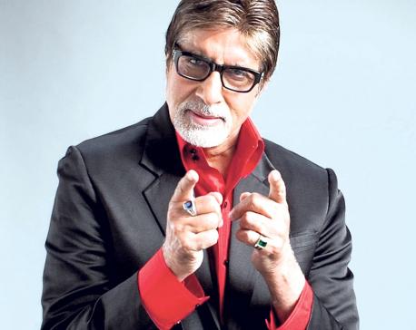 Big B welcomes Aadar Jain to Bollywood