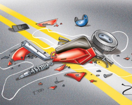 Youth killed in Tripureshwar bike accident