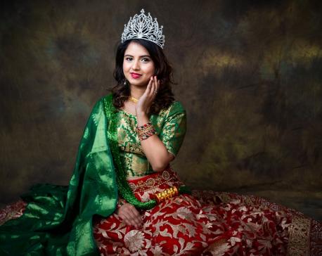 Binu Lamichhane to represent Nepal at Mrs Universe 2019