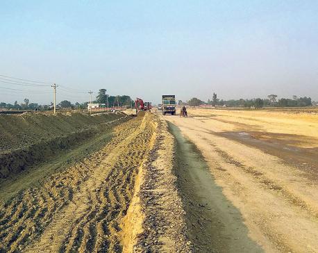 Birgunj-Pathlaiya road construction misses deadline