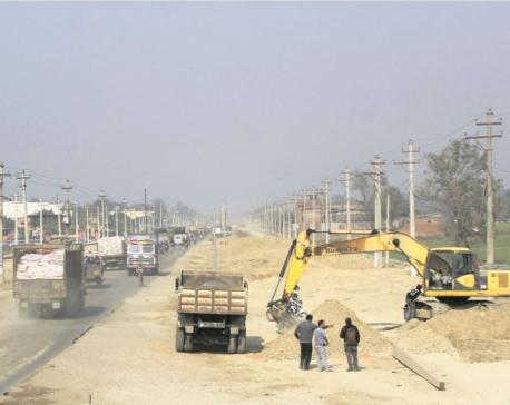 Six-lane Birgunj-Pathlaiya road to be ready by mid-July