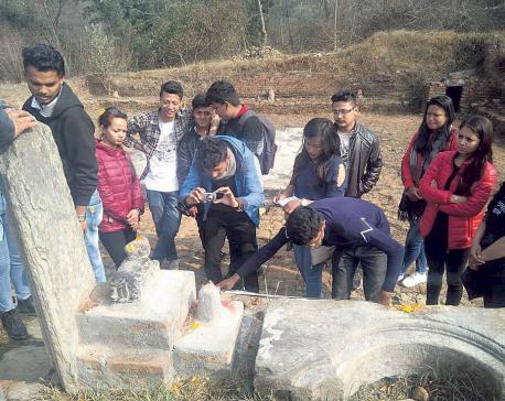 Shrine in Bhaktapur is Machheshwar Mahadev