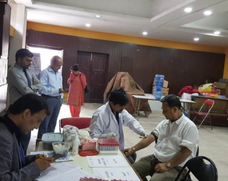 Blood testing program organized on occasion of World Hepatitis Day in capital