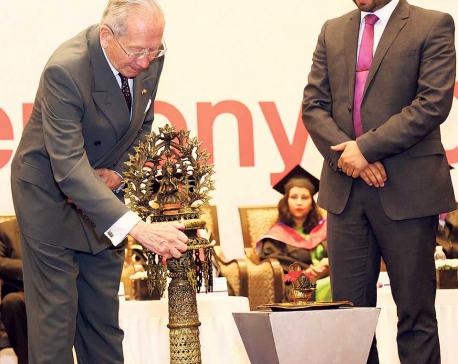 British College felicitates graduates