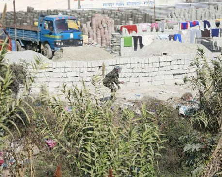 Nepal Army disposes bomb at Bhaktapur