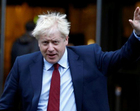 British PM Johnson: I expect a certain amount of criticism as PM
