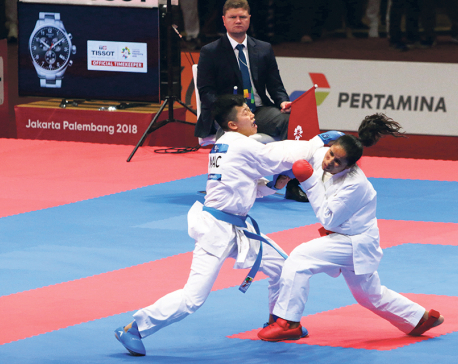 Nepal medal-less in taekwondo, boxing, karate as well