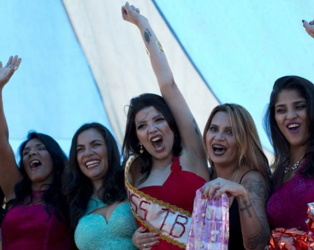 Beauty pageant for female inmates held in Brazil prison