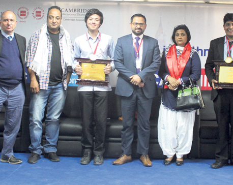 British Model College felicitates country toppers
