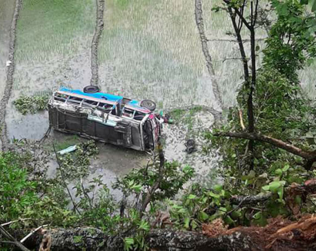 Two died in bus accident