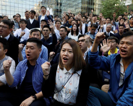 Chinese papers avoid details of Hong Kong's democratic election landslide