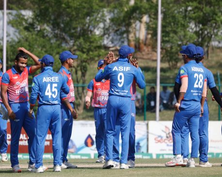 Nepal thrashes the Netherlands by 142 runs to clinch Tri-Nations T-20 Series title