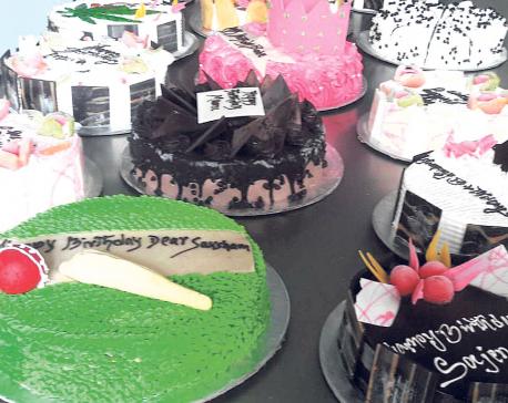 Visual treat at Cake 9