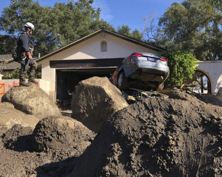 Update: Prayers for California mudslide victims; death toll hits 20