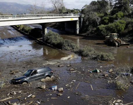 Update: 17 dead in California mudslides, more than a dozen missing