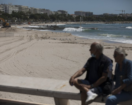 Cannes is empty, the day the film festival should have begun