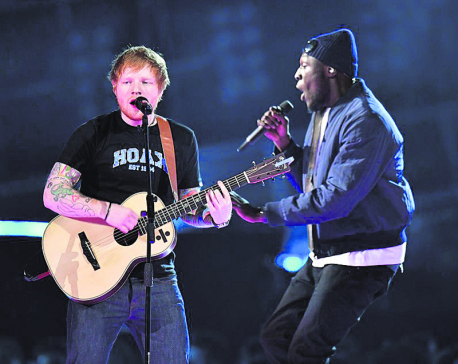 Sheeran, Stormzy nominated for Mercury award