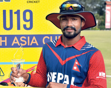Skipper Airee stars in Nepal's historic win over India