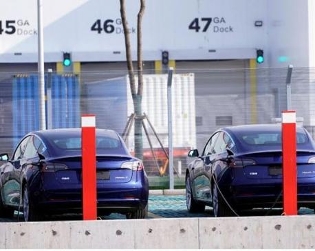 Tesla set to begin deliveries of China-made Model 3 cars on Dec. 30