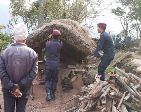 93 chhaugoths demolished in two days